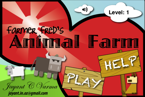 Screenshot Farmer Fred's Animal Farm