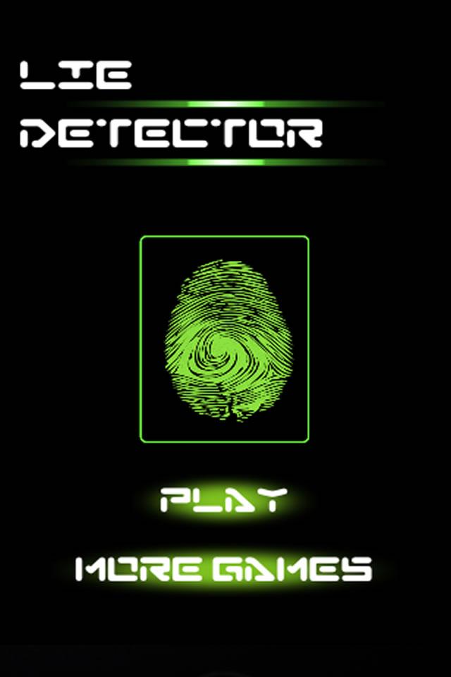 Screenshot Lie Detector I